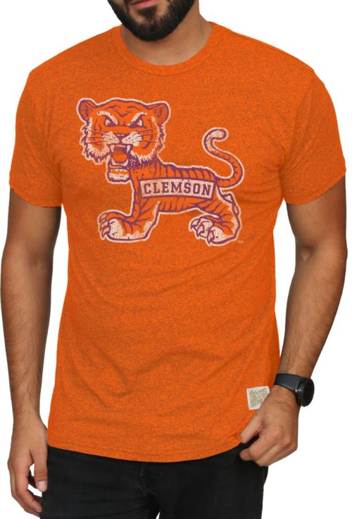 Original Retro Brand Men s Clemson Tigers Orange Mock Twist T-Shirt.  noImageFound. 1 43561c005