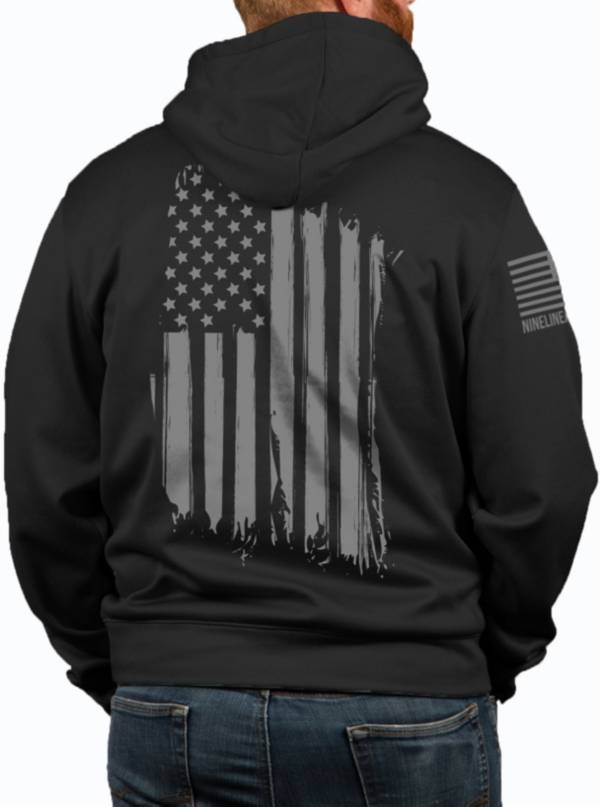 Nine Line Apparel Men's American Flag Tailgater Hoodie product image