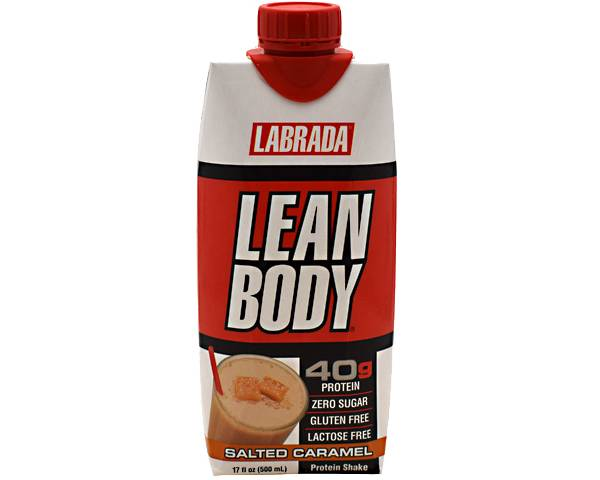 Labrada Lean Body Protein Shake Salted Caramel 12-Pack product image