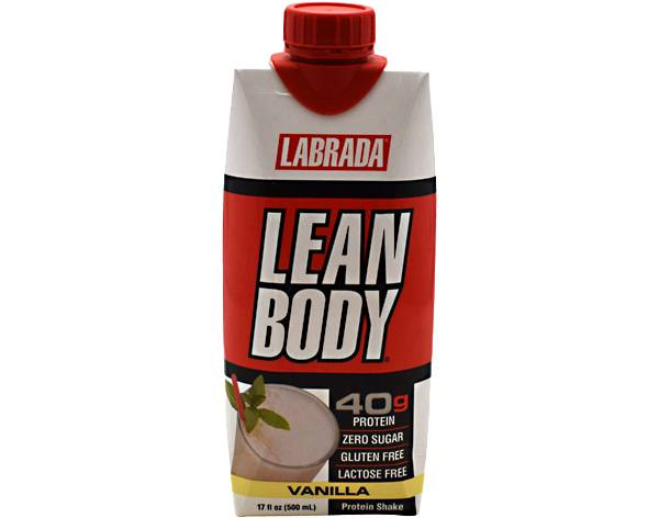 Labrada Lean Body Protein Shake Vanilla 12-Pack product image
