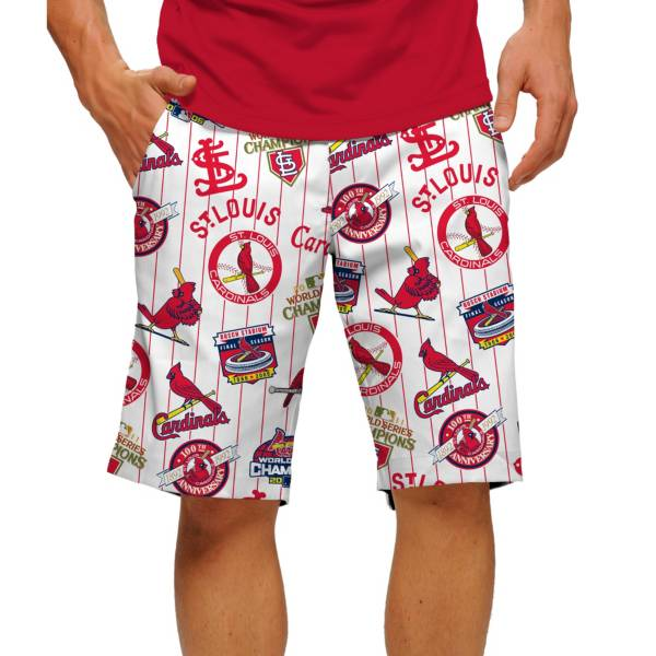 Loudmouth Men's St Louis Cardinals Golf Shorts product image