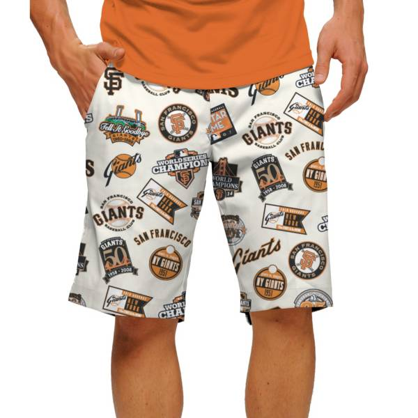 Loudmouth Men's San Francisco Giants Golf Shorts product image