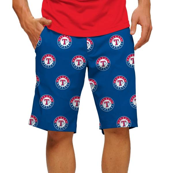 Loudmouth Men's Texas Rangers Golf Shorts product image