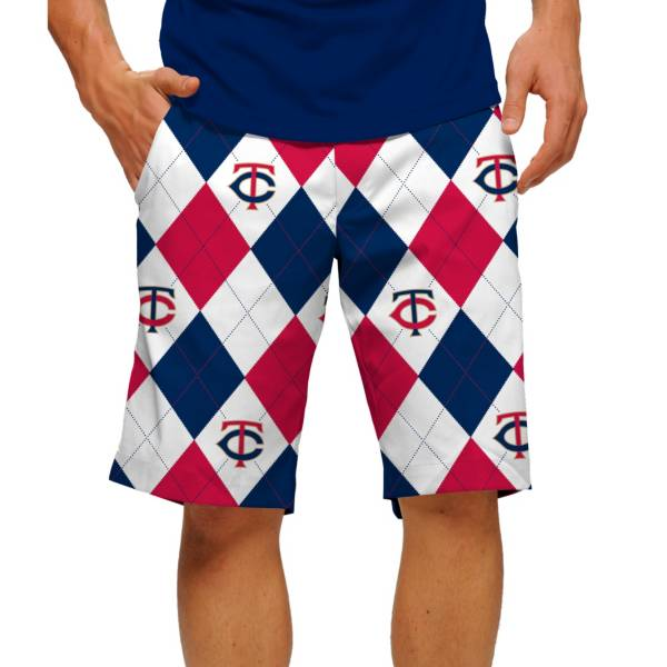 Loudmouth Men's Minnesota Twins Golf Shorts product image