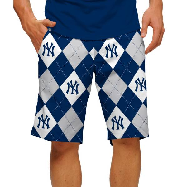 Loudmouth Men's New York Yankees Golf Shorts product image