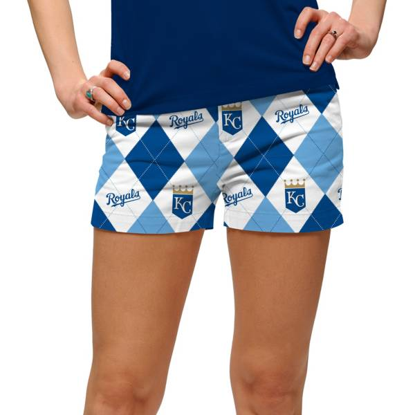 Loudmouth Women's Kansas City Royals Golf Mini Shorts product image