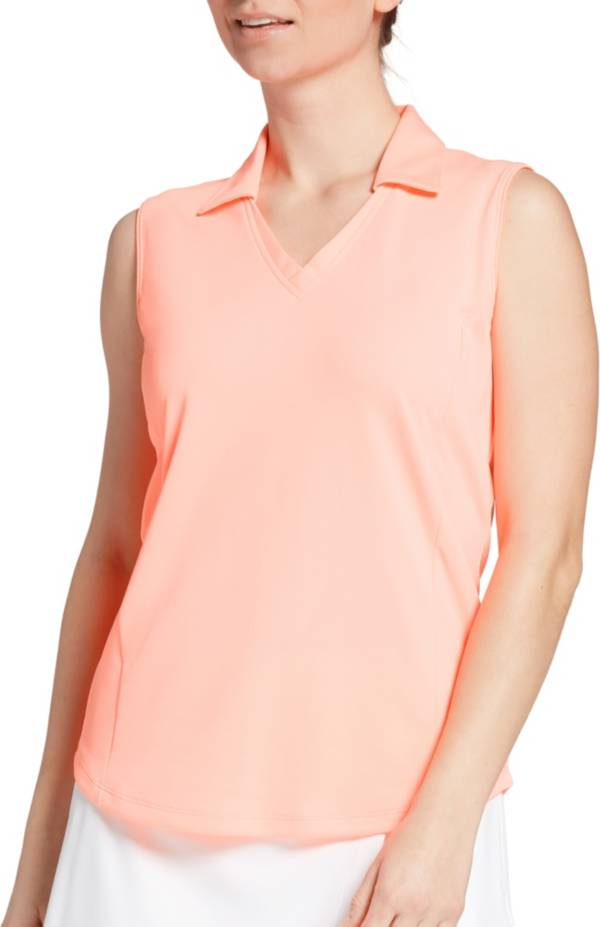 Lady Hagen Women's Solid Sleeveless Golf Polo product image