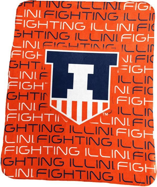 Illinois Fighting Illini 50'' x 60'' Classic Fleece Blanket product image