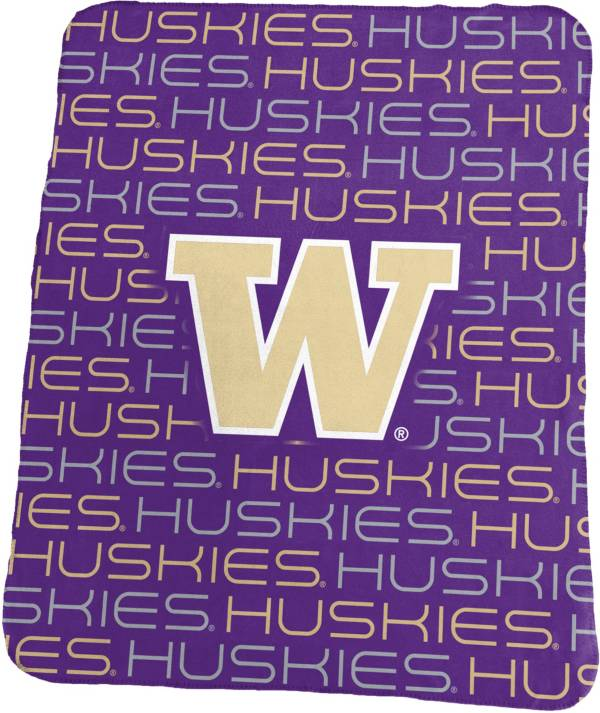Washington Huskies 50'' x 60'' Classic Fleece Blanket product image
