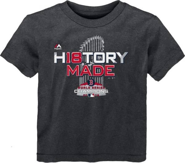 Majestic Toddler 2018 World Series Champions Locker Room Boston Red Sox Grey T-Shirt product image