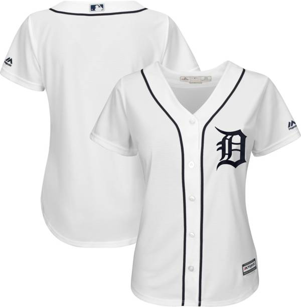 Majestic Women's Replica Detroit Tigers Cool Base Home White Jersey product image