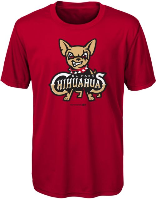 8d39d445082 Majestic Youth El Paso Chihuahuas Red T-Shirt