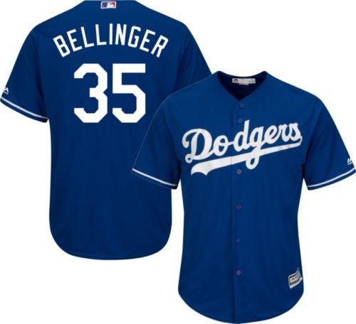 9be0c50ae Majestic Youth Replica Los Angeles Dodgers Cody Bellinger  35 Cool ...