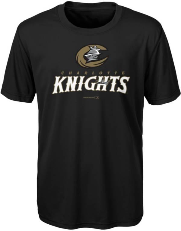 Majestic Youth Charlotte Knights Black T-Shirt product image