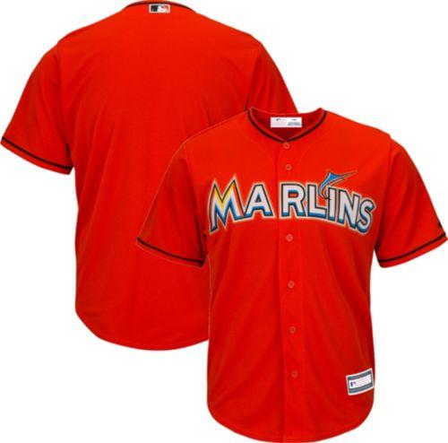 3ca902fca ... uk youth replica miami marlins alternate orange jersey. noimagefound.  previous 8248c 47bb3
