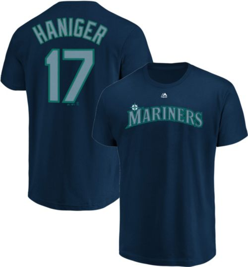 5d92c6072f8 Majestic Youth Seattle Mariners Mitch Haniger #17 Navy T-Shirt.  noImageFound. Previous