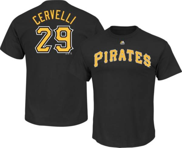 Majestic Youth Pittsburgh Pirates Francisco Cervelli Black T-Shirt product image