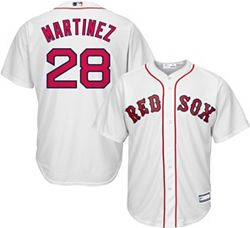 newest 2681b 09a90 Youth Replica Boston Red Sox J.D. Martinez #28 Home White Jersey