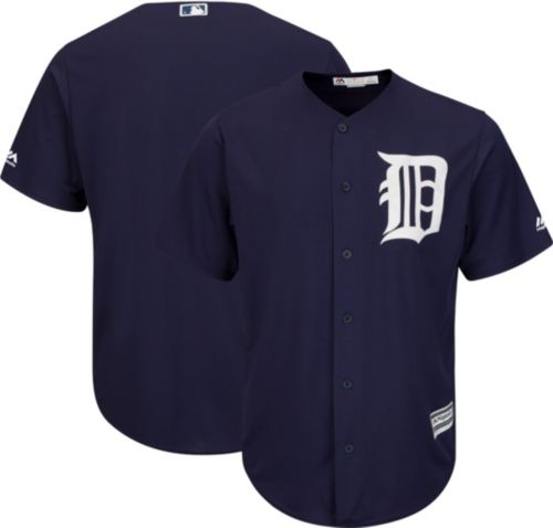 1ffca47e3 Majestic Youth Replica Detroit Tigers Cool Base Alternate Navy Jersey.  noImageFound. Previous
