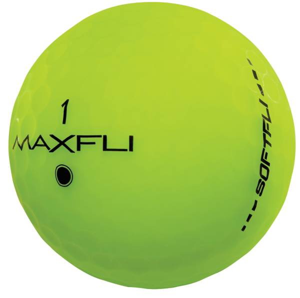 Maxfli SoftFli Matte Personalized Golf Balls – Green product image