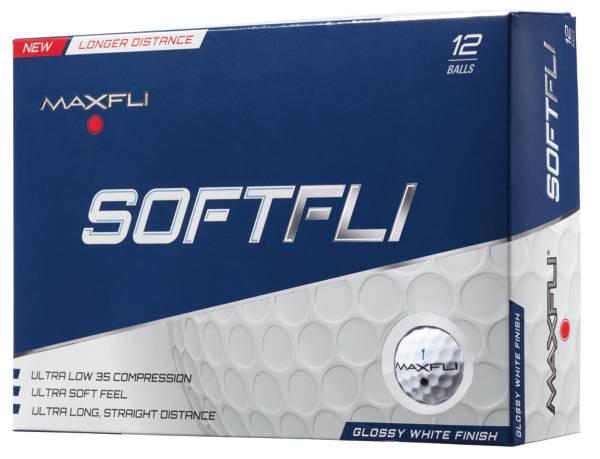 Maxfli SoftFli Gloss Personalized Golf Balls – White product image