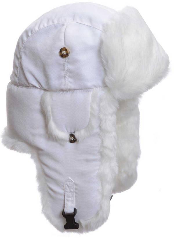 Mad Bomber Men's White Supplex Faux Fur Hat product image