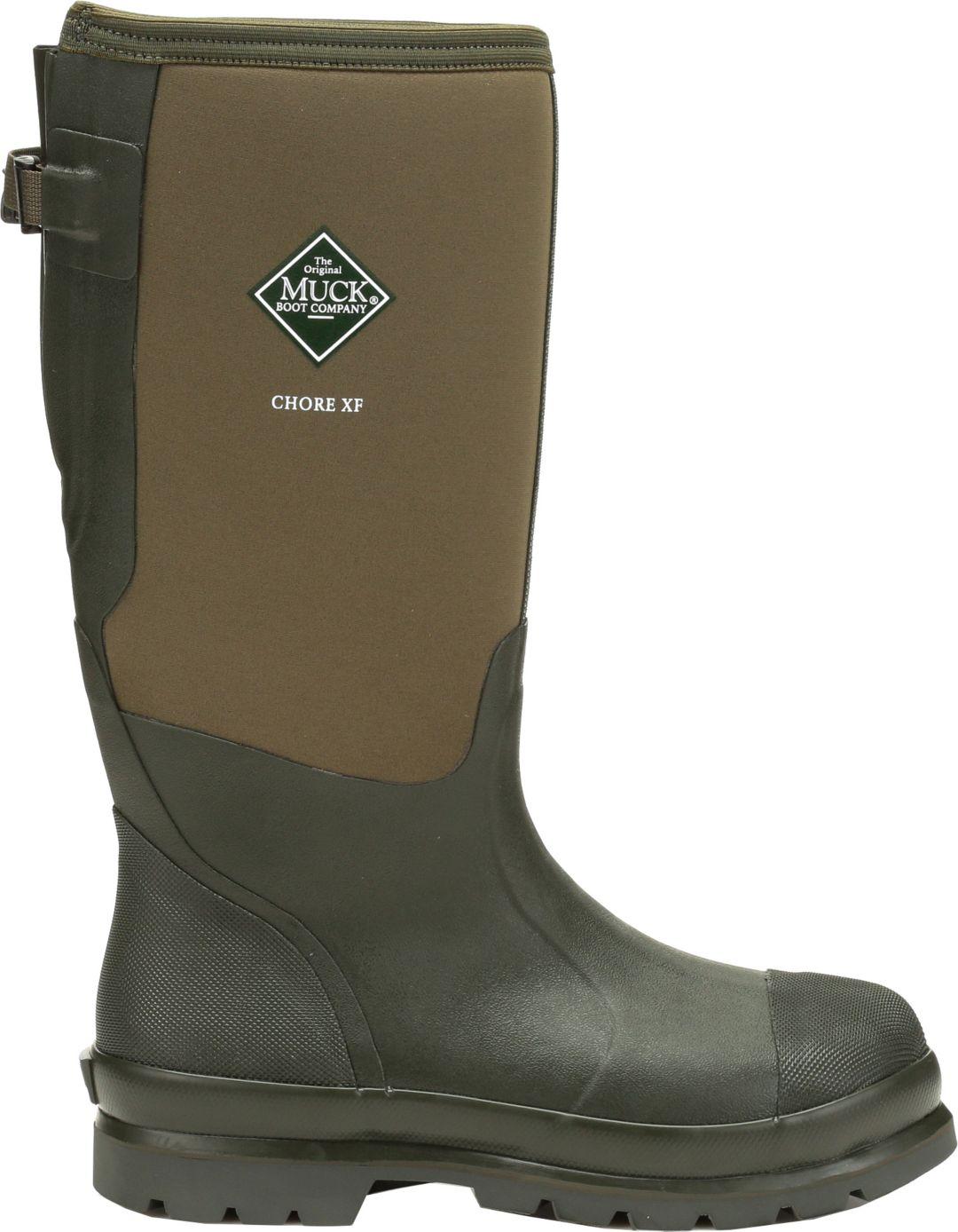 cf6e5d92d06 Muck Boots Men's Chore Classic Tall Gusset Work Boots