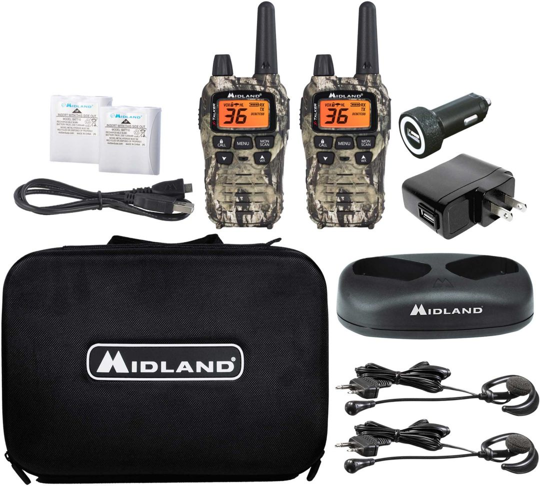 Midland Walkie Talkie >> Midland X Talker Extreme Two Way Radio Bundle 2 Pack