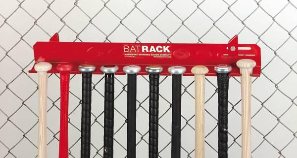 Markwort Aluminum 10 Bat Fence Rack product image