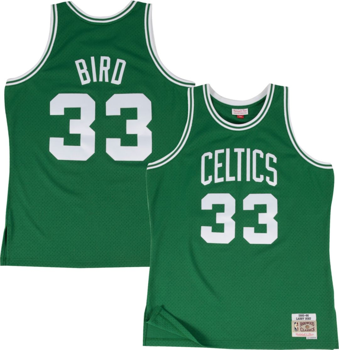 33263d37 Mitchell & Ness Men's Boston Celtics Larry Bird #33 Hardwood Classics  Swingman Jersey