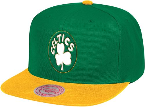 591238e4 Mitchell & Ness Men's Boston Celtics Adjustable Snapback Hat ...