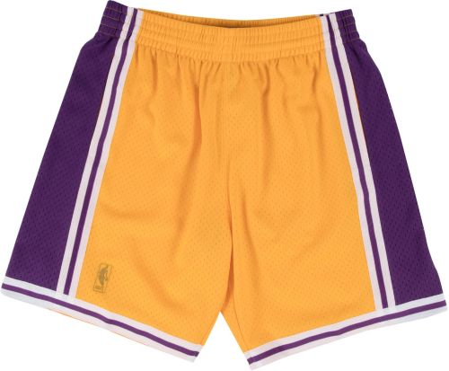c8d26e8aa801 Mitchell   Ness Men s Los Angeles Lakers Hardwood Classics Swingman Shorts.  noImageFound. Previous