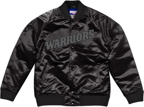 b78ba288591 ... Men s Golden State Warriors Black Satin Jacket. noImageFound. Previous