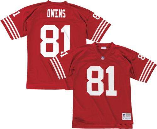 Mitchell   Ness Men s 2002 Home Game Jersey San Francisco 49ers Terrell  Owens  81 0136bed9f