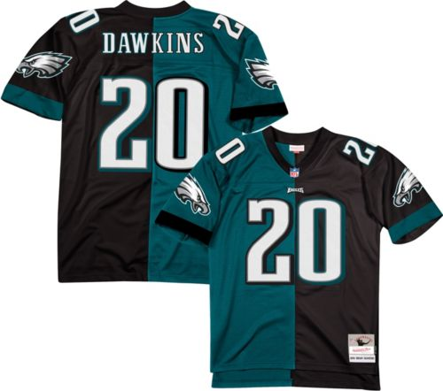 06a0830aa7b Mitchell & Ness Men's 2004 Split Game Jersey Philadelphia Eagles Brian  Dawkins #20