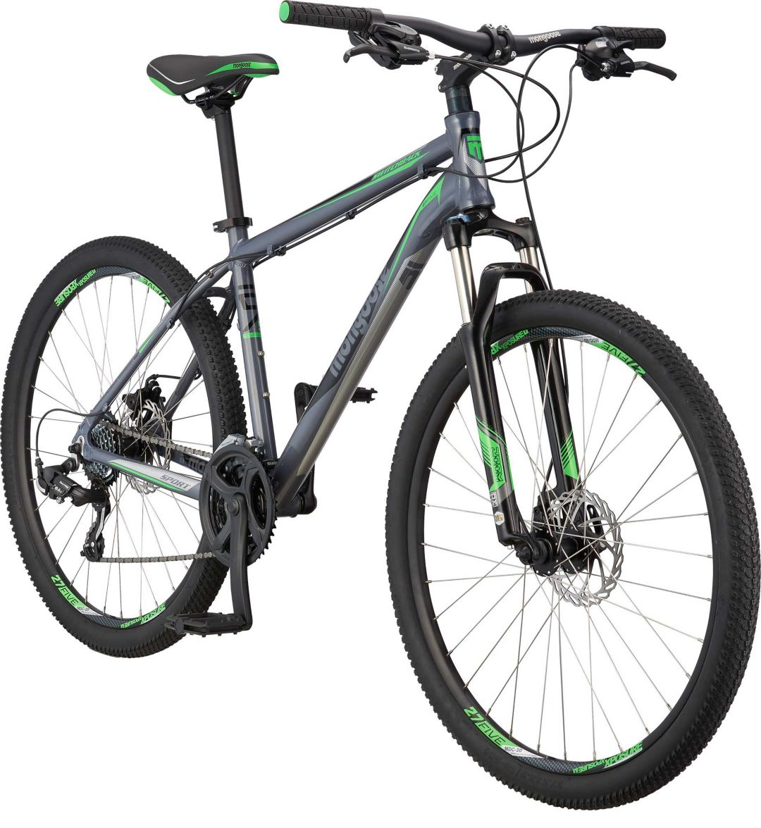 86ba5527c10 Mongoose Men's Switchback Sport 27.5'' Mountain Bike. noImageFound. Previous