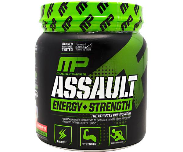 Muscle Pharm Assault Pre-Workout Strawberry 30 Servings product image