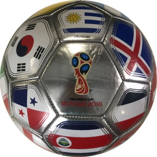 Icon Sports Group 2018 FIFA World Cup Russia Platinum Flag Soccer ... 96df982f43be