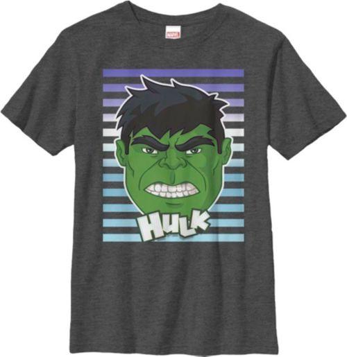 4d3da5d840 Fifth Sun Boys  Marvel  Hulk  Big Face Graphic T-Shirt
