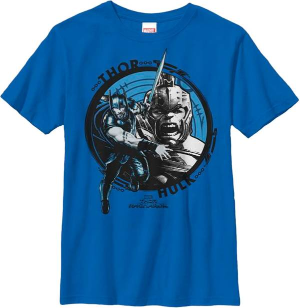 Fifth Sun Boys' Marvel 'Thor' and 'Hulk' Thrope Graphic T-Shirt product image