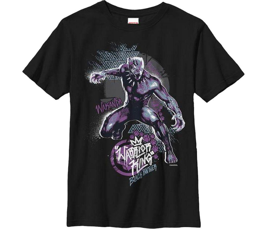 5c94f4f5 ... Marvel 'Black Panther' Street Panther Graphic T-Shirt. noImageFound. 1