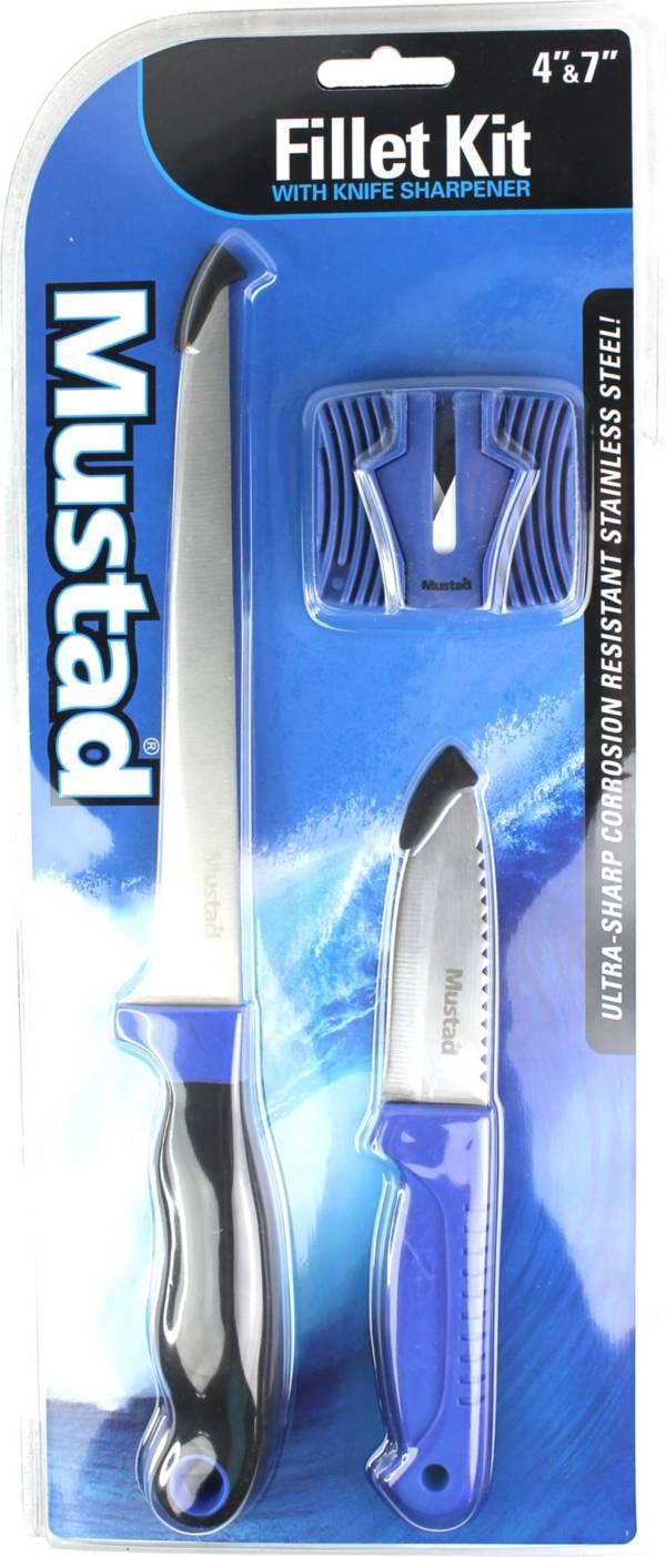 Mustad Fillet Knife Kit with Sharpener/Sheath product image