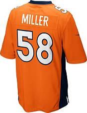 Nike Youth Denver Broncos Von Miller #58 Orange Game Jersey product image