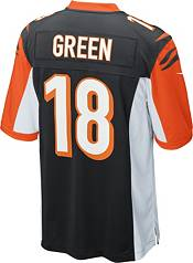 Nike Youth Cincinnati Bengals A.J. Green #18 Black Game Jersey product image