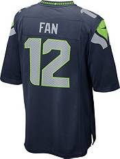 Nike Youth Seattle Seahawks 12th Fan #12 Navy Game Jersey product image