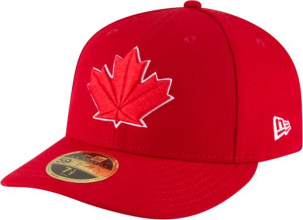 New Era Men's Toronto Blue Jays 59Fifty Alternate Red Low Crown Fitted Hat product image