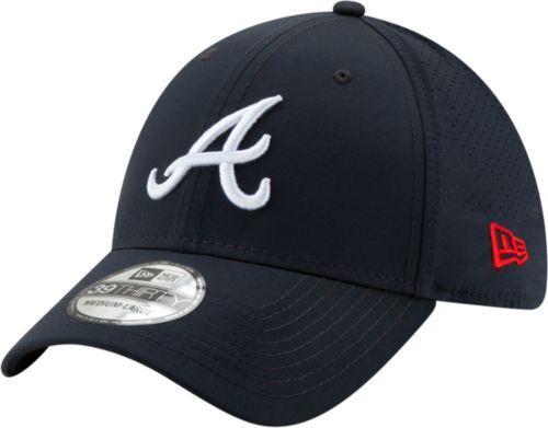 the best attitude da8ae 1a814 New Era Men s Atlanta Braves 39Thirty Perf Play Stretch Fit Hat ...