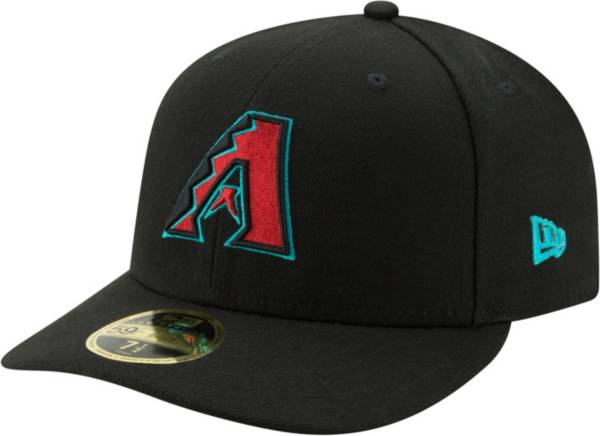 New Era Men's Arizona Diamondbacks 59Fifty Alternate Black Low Crown Fitted Hat product image