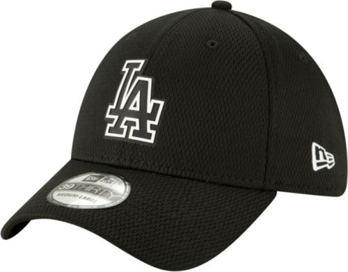 34ab0fe6bf0cd ... Los Angeles Dodgers 39Thirty Clubhouse Black Stretch Fit Hat.  noImageFound. Previous