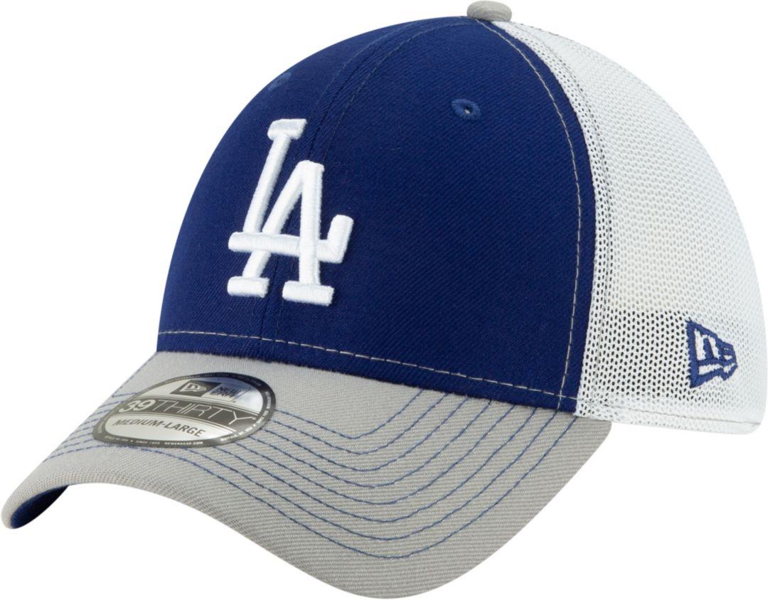 26e3c68fd270c6 New Era Men's Los Angeles Dodgers 39Thirty Practice Piece Stretch Fit Hat.  noImageFound. Previous